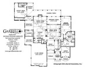 nashville manor house plan