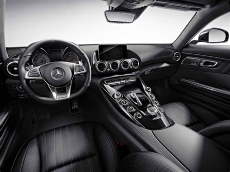 Black Silver Embedded Surface Styling mercedes amg gt gets silver chrome carbon and black