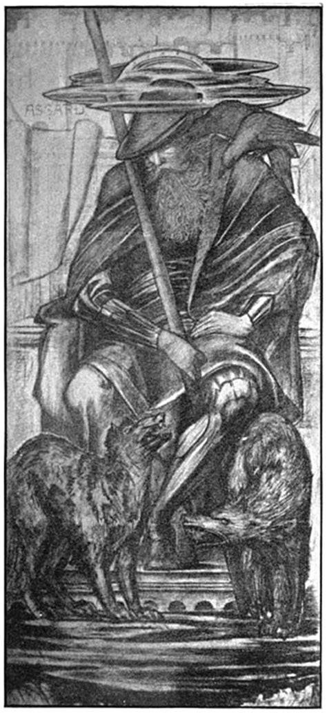 classic illustrations  norse mythology