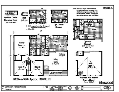 commodore homes floor plans grandville le modular ranch elmwood rx844a find a