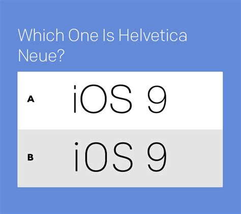 Home Design App Hacks Helvetica Neue Vs San Francisco Can You Tell The Difference