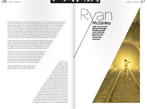 graphic design page layout ideas 7 best images of magazine layout design magazine spread