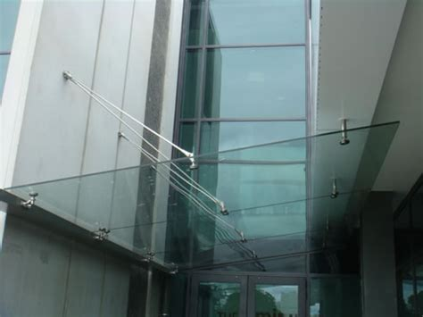 glass awning system frameless glass canopy system austvision mt waverley vic 3149
