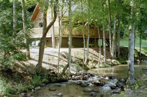 Creek Log Cabin by Another View Picture Of Lands Creek Log Cabins Bryson