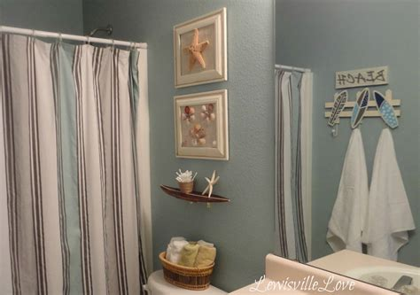Beach Theme Bathroom Ideas | lewisville love beach theme bathroom reveal
