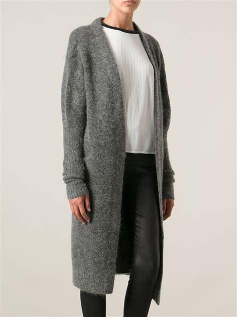Cardigan Cardigan Grey lyst acne studios raya cardigan in gray
