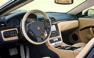 Maserati Granturismo S Interior 2009 Maserati Granturismo S Interior View Photo 19