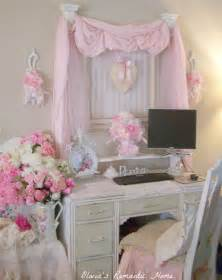 shabby chic home office decor for tight budget office
