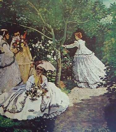 monet donne in giardino donne in giardino monet archivi frammentiarte