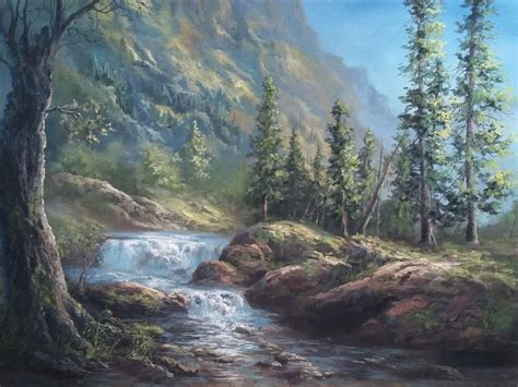 acrylic painting kevin 118 best kevin hill paintings images on