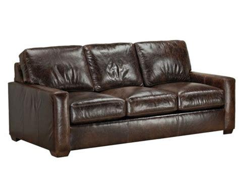 Leather Sofa Miami Cc Leather 420 Miami Sofa Ohio Hardwood Furniture