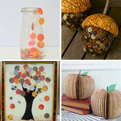 fall craft projects for adults 18 autumn crafts for adults 187 the purple pumpkin