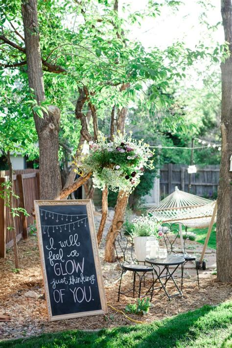 backyard engagement party decorations triyae com elegant backyard engagement party ideas