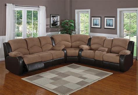 Sectional With Recliner Plushemisphere Sectional Sofas With Recliners For Decorating Your Home
