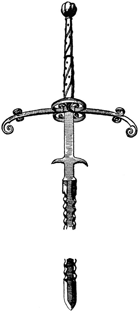 Two-Handed Sword | ClipArt ETC
