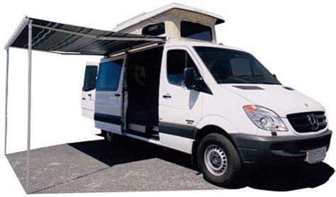 sportsmobile awning sportsmobile custom cer vans sprinter penthouse top