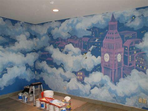 peter pan bedroom wallpaper peter pan mural brooke van name wanna paint this on my