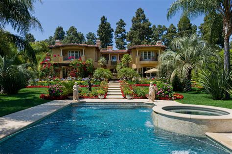 Nice Backyards by Dr Phil Puts His 16 5 Million Beverly Hills Home Up For