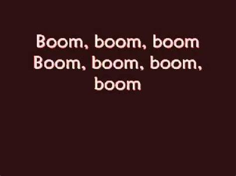 song boom boom boom i want you in my room boom boom boom lyrics