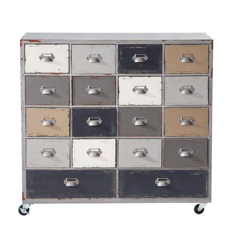 lade industriali vintage mobilier industriel meuble lounge meuble de couleurs