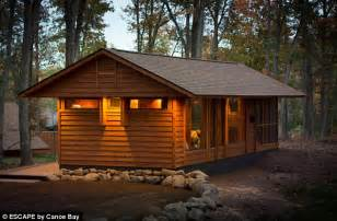 Frank Lloyd Wright Plans For Sale wisconsin man develops adorable tiny house on wheels for