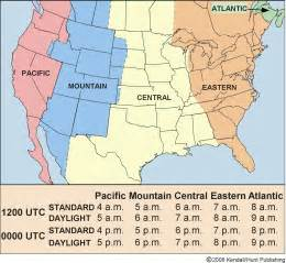 us time zone map including hawaii chapter 2