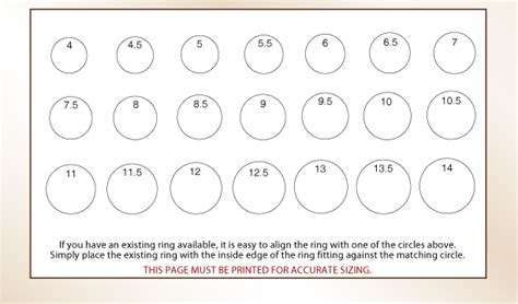 printable ring size are printable ring sizer click here to download and print a