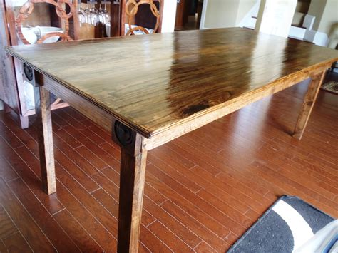how to build a rustic dining room table how to make a rustic dining room table marceladick