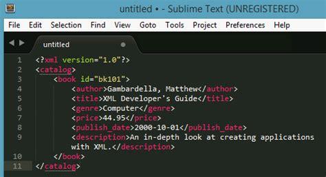 format xml sublime formatting xml sublime text 3