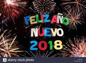 feliz ano nuevo 2018 stock photo royalty free image