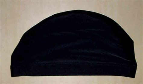 Topi Renang Bahan Lycra topi renang sepeda hitam