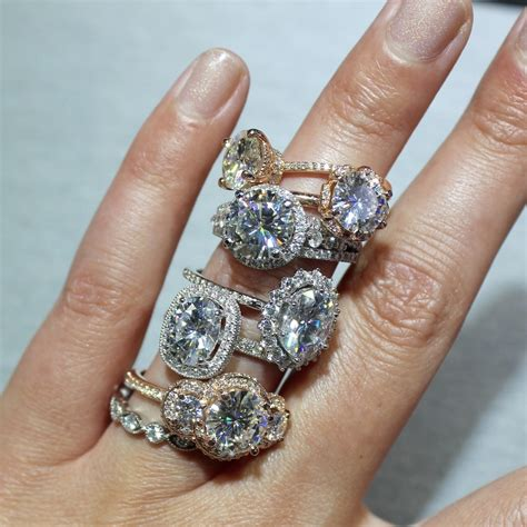 Moissanite Rings by Why You Should Consider Moissanite With Brilliance