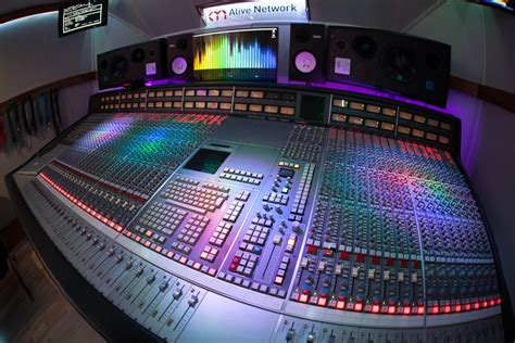 Sound Desk Software by Ssl Mixing For Albums Eps At Alive Network