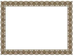 Borders Template by 5 New Certificate Border Templates Blank Certificates