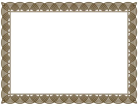 Award Certificate Border Template 5 new certificate border templates blank certificates