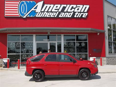 pontiac aztek red aztek autos post