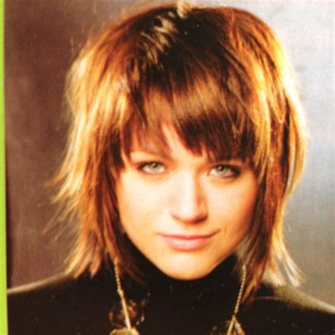 shag haircut without bangs over 50 medium shag with fringe bangs google search hair
