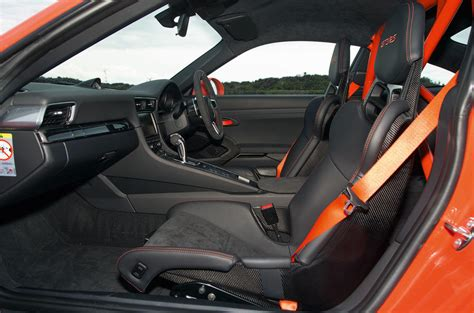 porsche  gt rs review  autocar