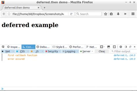 Tutorial Jquery Deferred | jquery deferred phpsourcecode net