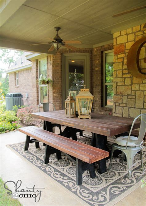 how to make a patio bench 21 great diy furniture ideas for your home style motivation