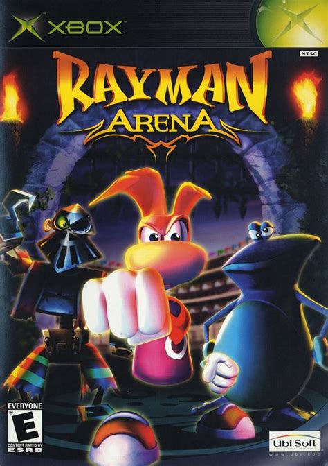Ramen Cihelas rayman arena box for xbox gamefaqs