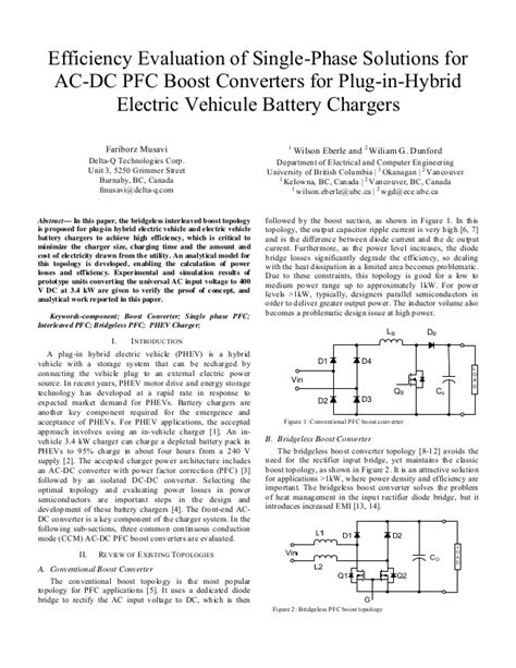 Efficiency evaluation of single phase solutions for ac-dc