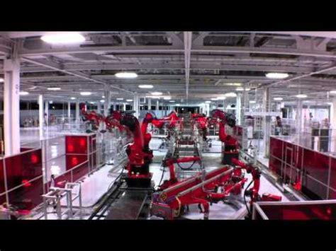 Tesla Factory Tour Schedule Tesla Model S Factory Tour Mov