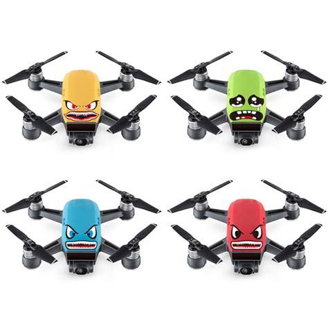 Sticker Drone Xiro Golden Gear 4x shark pvc skin sticker decal for dji spark drone battery price 3 59