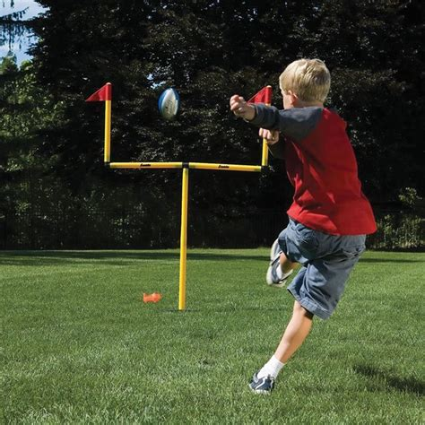 backyard field goal posts field goal backyard goal post 187 petagadget