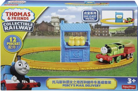 friends collectible railway percy s mail delivery collectible railway percy s mail
