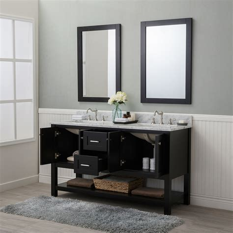 bathroom vanities wilmington nc alya bath wilmington 60 in double bathroom vanity in