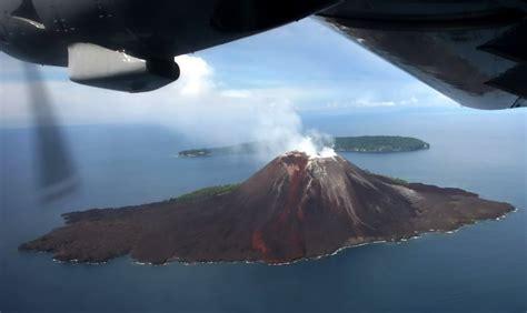 membuat gelang anak gunung anak gunung krakatau semakin tinggi ini foto penakannya