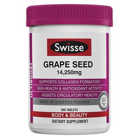 Swisse Kidney Detox by Swisse Grape Seed 300 Tablets Evitamins Canada