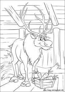 frozen color sheets free coloring pages of frozen a4